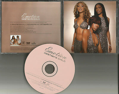 Beyonce Destiny S Child Emotion  W  Instrumental   Acapella Promo Dj Cd Single
