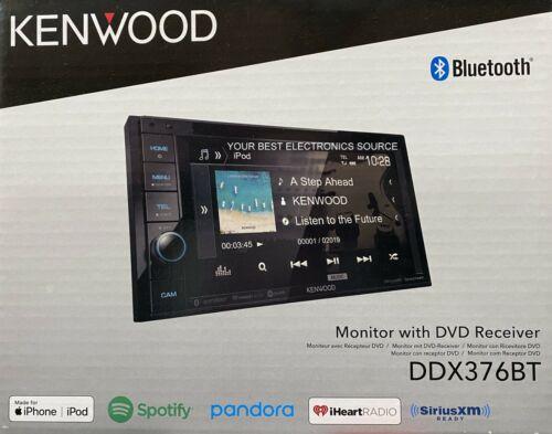 """NEW Kenwood DDX376BT 6.2"""" Touch Screen, 2-DIN, CD/DVD w/ Bluetooth"""