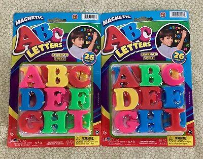 Magnetic ABC Alphabet Letters Learning Kids Refrigerator Fridge Magnets