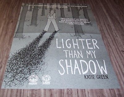 KATIE GREEN Lighter Than My Shadow NEW YORK COMIC CON EXCLUSIVE PROMO POSTER
