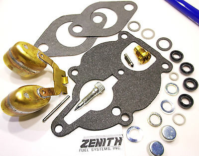Zenith Carburetor Kit Float Fit Wisconsin Engine Vh4d Vhd Tjd Replaces Lq39 E27