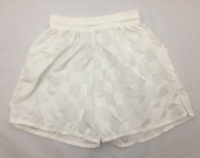 4da7cedc5 Continental Sports Uniform Youth Size Small S Soccer Shorts White 4 5 6  Years