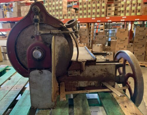Antique American Slicing Machine- Meat Slicer