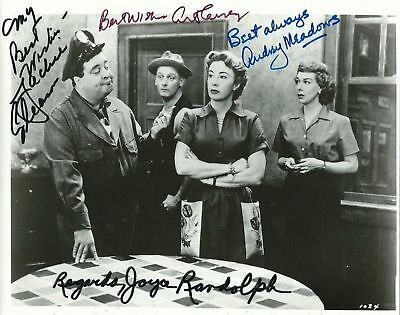 The Honeymooners Autographed Signed 8x10 Photo Reprint