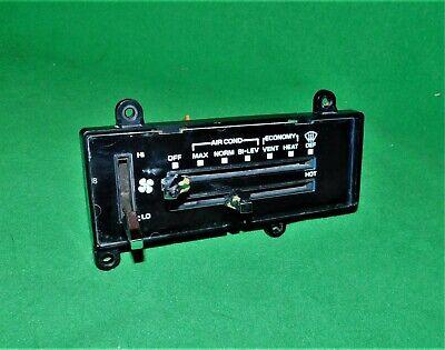 1973 - 1987 CHEVY GMC TRUCK C10 K10 1500 SILVERADO HEATER A/C CONTROL PANEL