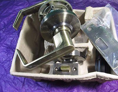 Schlage Al10s Sat 609 Saturn Grade 2 Cylindrical Lock Antique Bras Passage Al 10