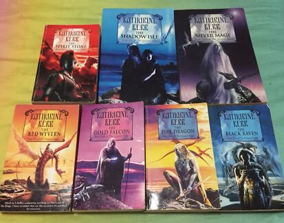 Complete 7 Book Series of the Dragon Mage by Katharine Kerr