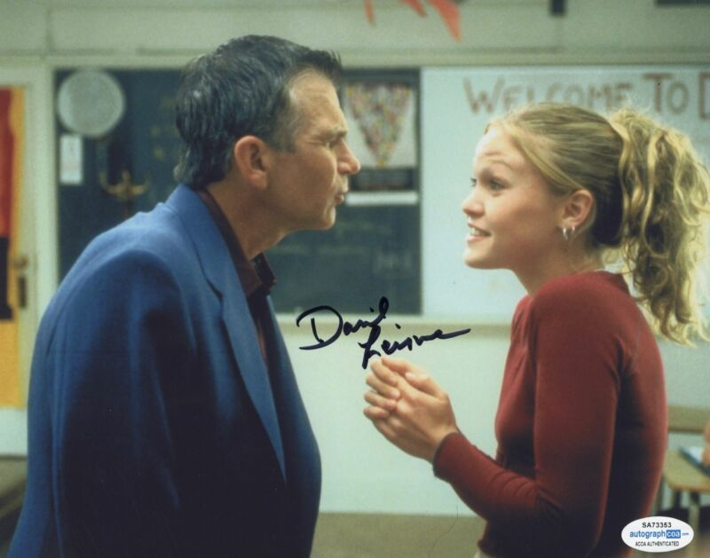 DAVID LEISURE SIGNED 10 THINGS I HATE ABOUT YOU 8X10 PHOTO 3 ACOA