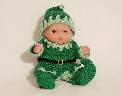Elf OUTFIT ONLY for Itty Bitty Baby - 5