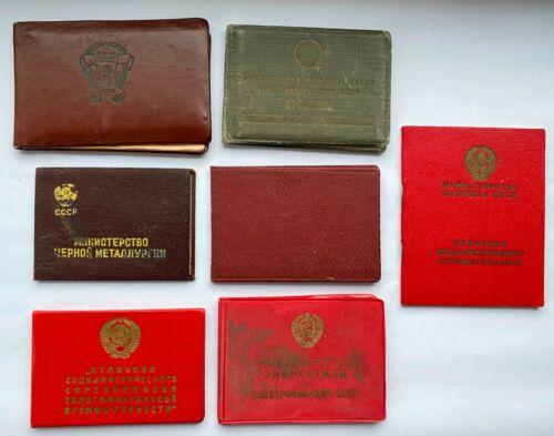 100% ORIGINAL! Soviet Document for Comptetition Badges USSR