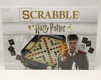 SCRABBLE World Of Harry Potter. New In Box Sealed.