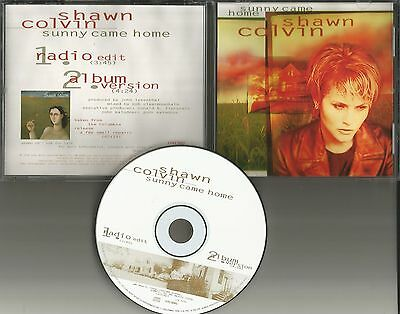 Shawn Colvin Sunny Come Home W  Rare Radio Edit Promo Dj Cd Single 1996 Usa Mint