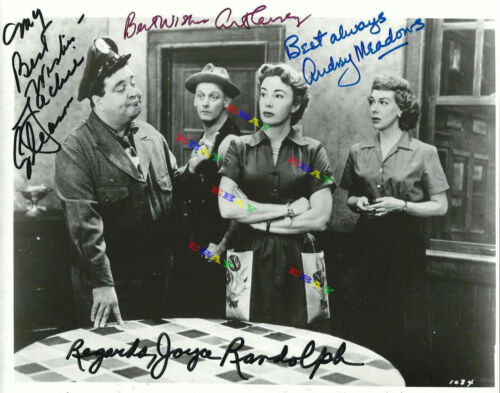 The Honeymooners Autographed Signed Photo Reprint