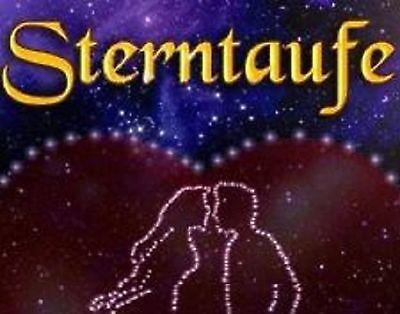 STERNENTAUFE das romantisches Geschenk als Liebesbeweis Stern Geschenkidee