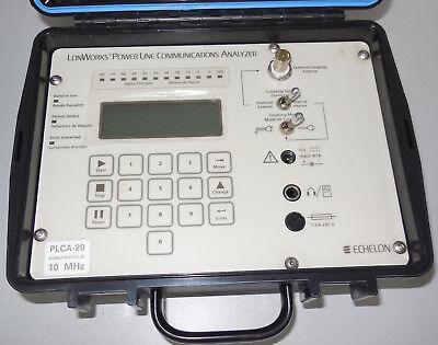 Echelon Lonworks Power Line Communications Analyzer Plca 20