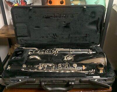 Yamaha YCL-221 Student Bass Clarinet with Low Eb Music Instrument Amazing Shape