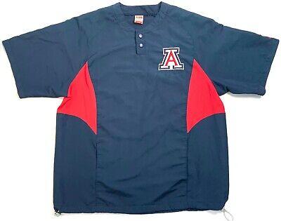 Nike University Of Arizona Team Mens Sports Jacket FITORY Very Light Size Large