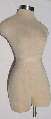 Female Dress Form Mannequin Fabric Torso 34 Body 30 Inches 32 24 35 Nostand