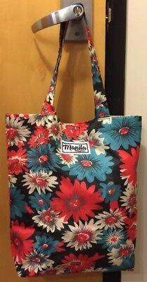 Kultura Uniquely Filipino Manila Philippines Reusable Tote Bag 14.5