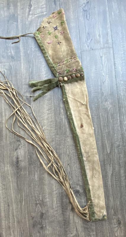 Native American Indian Rifle Scabbard