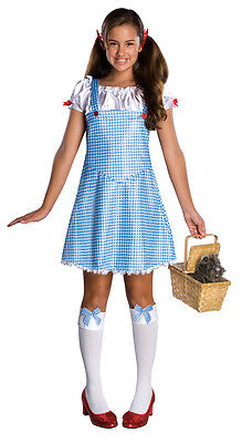 Dorothy Wizard of Oz Country Girl Gingham Dress Up Halloween Deluxe Teen Costume - Dorothy Teen Costume
