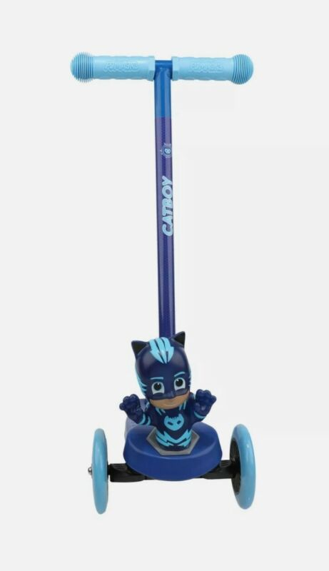 PJ Mask Catboy 3d Scooter with 3 wheels and tilt to turn