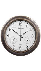 SkyNature Outdoor Clocks, 18 Inch Large Indoor Outdoor Wall Clock Waterproof wit