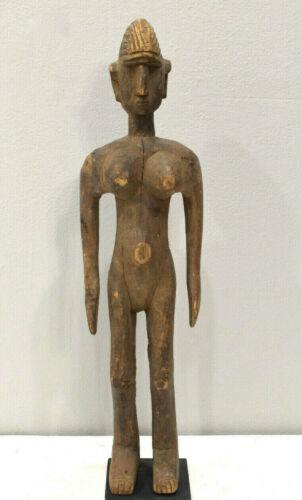 Statue African Bamana Female Statue Mali