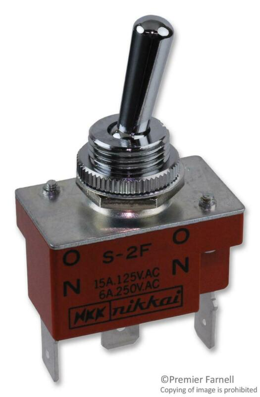 NKK SWITCHES-S2F-SWITCH£¬TOGGLE£¬SPDT£¬20A£¬250VAC