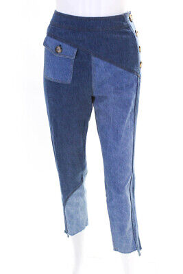 Rejina Pyo Womens Lucie Trousers Blue Size 8 12516925