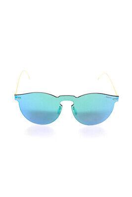 Illesteva Leopard Mask Aviator Frameless Sunglasses Blue