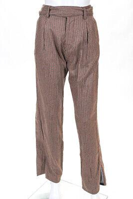 Unravel Project Womens Wrap Denim Trousers Beige Size 36 Italian