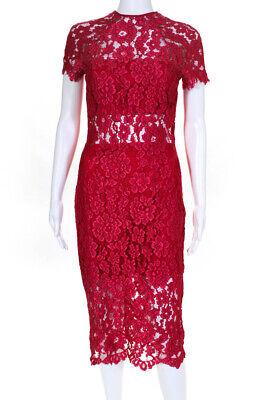 Alexis Womens Red Leona Dress Size Medium 10763568