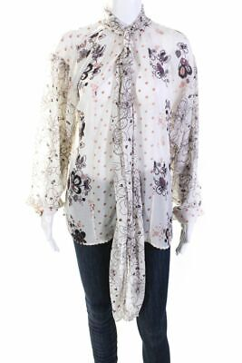 SEE BY CHLOÉ Beige Blouse Sz M 656445