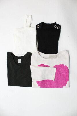 Zara Trafaluc Womens Blouse Pink White Black Green Size Small Lot 4