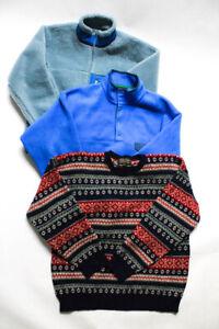 Patagonia Brooks Brothers Mens Jackets Sweater Size Medium Large Extra Large Lot
