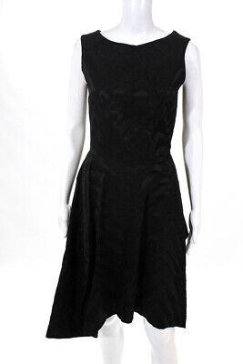 Vivienne Westwood Anglomania Women's Sleeveless Shift Dress Black Size 40