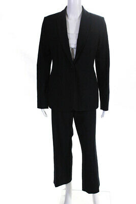 Calvin Klein Women's Pants Suit Navy Blue Size 6