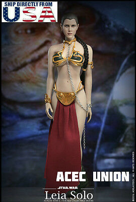 1/6 Star Wars Princess Leia Organa Slave Outfit Set For Hot Toys U.S.A. SELLER