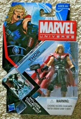 MARVEL UNIVERSE SERIES 4 AGES OF THUNDER THOR 3.75