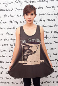 The-Smiths-Hatful-of-Hollow-DAMES-FEMME-T-SHIRT-Debardeur-Robe-Tunique-Top-M-L