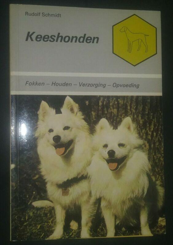 Keeshonden by Rudolf Schmidt Book in Dutch