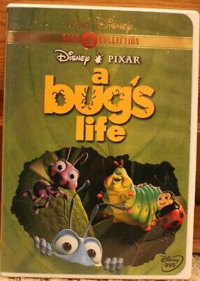 Disney Pixar A Bugs Life (DVD, 2000, Gold Collection Edition) G rating