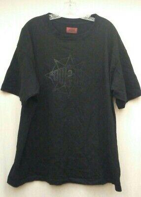 424 on Fairfax 2017 Black Cotton T-Shirt Reversible Size M