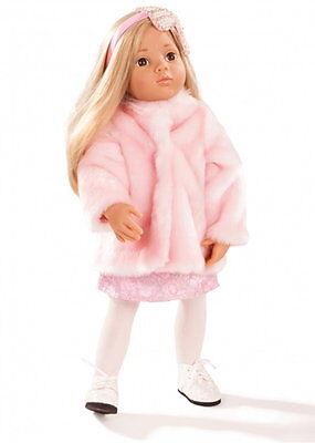 Götz Stehpuppe Puppe Emily Multigelenkstehpuppe 50cm blond Geschenk Neu 1666034