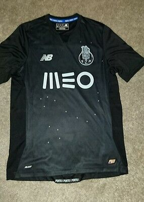 FC Porto - Away Shirt 2016/17 (Black) New Balance - Size Small (Mens)