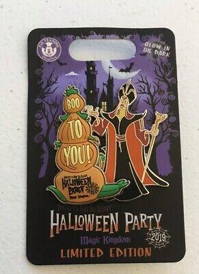 Not So Scary Halloween Party Disney World (Disney World 2019 MNSSHP Mickey's Not So Scary Halloween Party Jafar Iago LE)