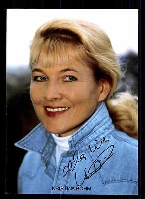 Kristina Böhm Autogrammkarte Original Signiert # BC 41105