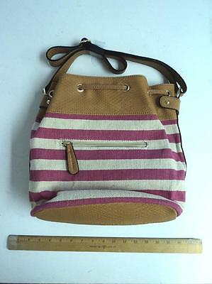 Women's Apt 9 White Cream Pink Style Tote Bag Ladie's Purse - FLASH SALE](Canvas Tote Bags Cheap)