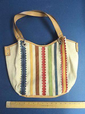 Women's RELIC Beige Tan Blue Cream Hand Bag Purse Ladies Tote FLASH SALE](Canvas Tote Bags Cheap)